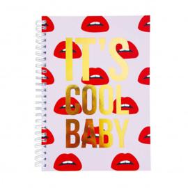 Studio stationery notitieboek It's cool baby