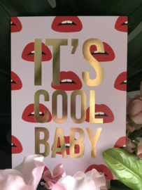 It's Cool Baby kaart