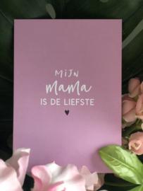 Mama De Liefste kaart