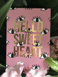 Hello Sweet Heart kaart