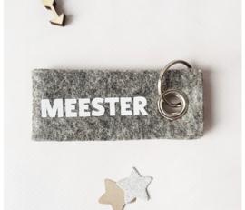 Miv sleutelhanger meester