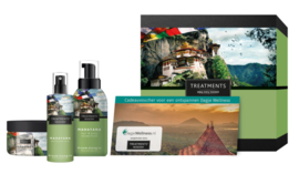 Treatments  Cadeaubox  Mahayana incl. 2 sauna entreevouchers