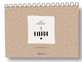 MIV  familieplanner a4