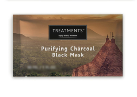 Treatments  Purifiying Charcoal Black mask 20 ml.
