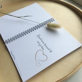 Invulboek| Als je mij moet missen