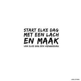 Kaart| Start elke dag met een lach