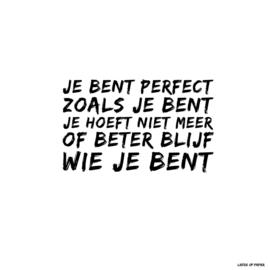 Kaart| Je bent perfect