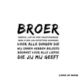 Kaart| Broer
