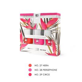"""Moyra Nail Polish Gift Set """"TROPICAL""""  3x7ml"""