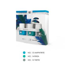 "Moyra Nail Polish Gift Set ""BAHAMA""  3x7ml"