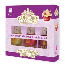 """Cupcake Moyra Nail Polish """"Kids Collection"""""""