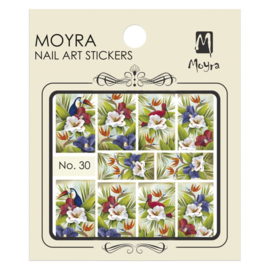Moyra Nail Art Sticker Watertransfer No 30