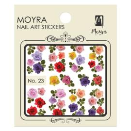 Moyra Nail Art Sticker Watertransfer No 23