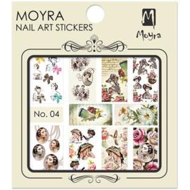Moyra Nail Art Sticker Watertransfer No 04