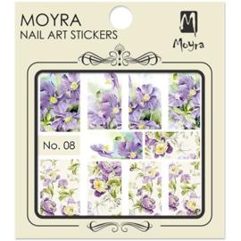 Moyra Nail Art Sticker Watertransfer No 08