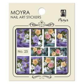 Moyra Nail Art Sticker Watertransfer No 25