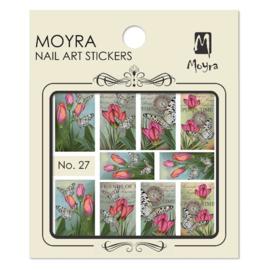 Moyra Nail Art Sticker Watertransfer No 27