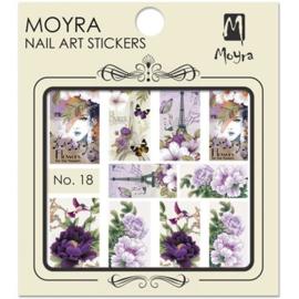 Moyra Nail Art Sticker Watertransfer No 18