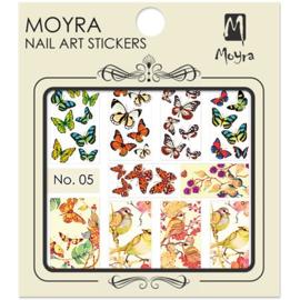 Moyra Nail Art Sticker Watertransfer No 05