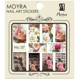 Moyra Nail Art Sticker Watertransfer No 07