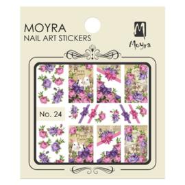 Moyra Nail Art Sticker Watertransfer No 24