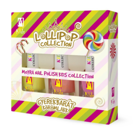 """Lollipop Moyra Nail Polish """"Kids Collection"""""""