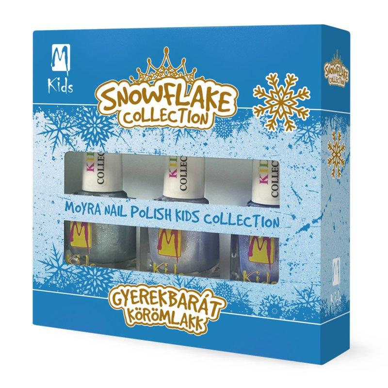 """Snowflake Moyra Nail Polish """"Kids Collection"""""""