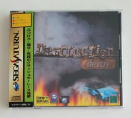 Saturn Destruction Derby (CIB) Japanese Version