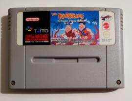 SNES The Flintstones - The Treasure of Sierra Madrock (cart only) AUS