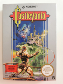 NES Castlevania (Box + Cart) NOE
