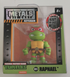 Metals Die Cast Key Chain - Raphael M24 6 cm (Teenage Mutant Ninja Turtles) new