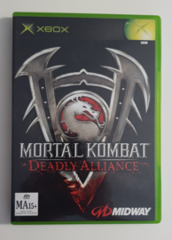 Xbox Mortal Kombat Deadly Alliance (CIB) Australian PAL Version