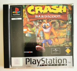 PS1 Crash Bandicoot Platinum (CIB)