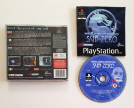 PS1 Mortal Kombat Mythologies: Sub-Zero (CIB)