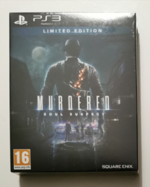 PS3 Murdered Soul Suspect - Limited Edition (factory sealed)