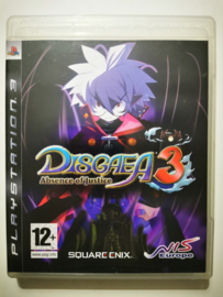 PS3 Disgaea 3 - Absence of Justice (CIB)