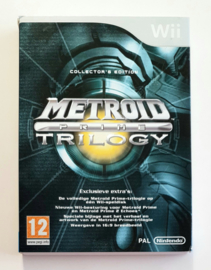 Wii Metroid Prime Trilogy Collector's Edition (CIB) HOL