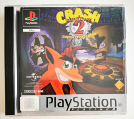 PS1 Crash Bandicoot 2 - Cortex Strikes Back Platinum(CIB)