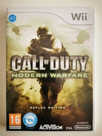 Wii Call of Duty Modern Warfare - Reflex Edition (CIB) UKV