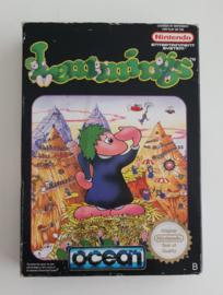 NES Lemmings (CIB) NOE