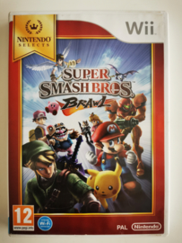 Wii Super Smash Bros Brawl - Nintendo Selects (CIB) HOL