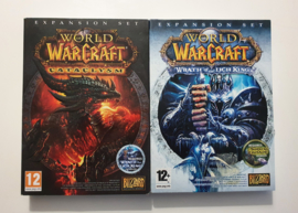 PC World of Warcraft Wrath of the Lich King + Cataclysm Expansion Set (CIB)