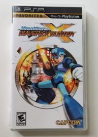 PSP Megaman - Maverick Hunter X (CIB) Favorites -NTSC US-