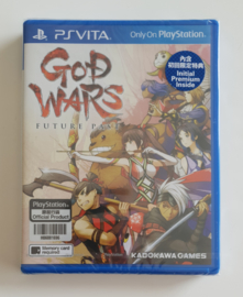 PS Vita God Wars Future Past (factory sealed) Asian Edition OOP