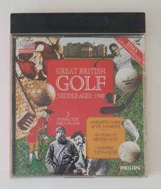 CD-I Great British Golf Middle Ages - 1940 (CIB)