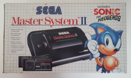 Sega Master System II Sonic the Hedgehog Edition (Boxed - part of inlay missing)