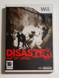 Wii Disaster: Day of Crisis (CIB) HOL
