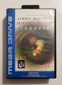 Megadrive Jimmy White's Whirlwind Snooker (Box + Cart)