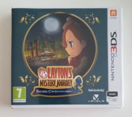 3DS Layton's Mystery Journey - Katrielle en het Milionairscomplot (CIB) HOL