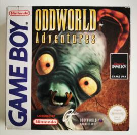 GB Oddworld Adventures (CIB) EUR